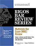 Multistate Bar Exam (Mbe) Review 2008-2009, Emanuel, Steven and Rigos, James J., 0735573336