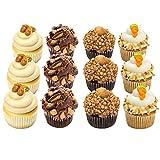 Cupcakes - Nut Lovers - Peanut Butter - Dessert - 12 Pack Assortment - Baked Fresh Day of Order