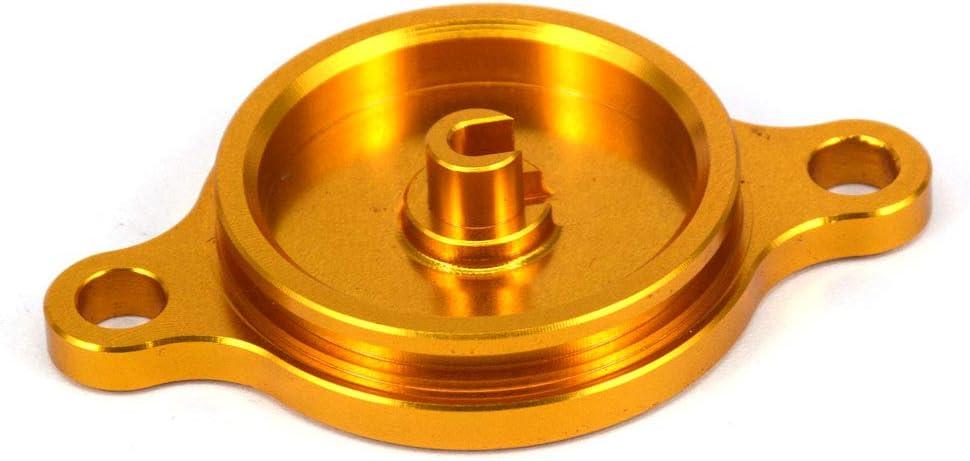 /16/RMX450Z 10/ /15/oro Moto filtro dell olio tappo di copertura per Suzuki RMZ250/07/ /16/RMZ450/05/