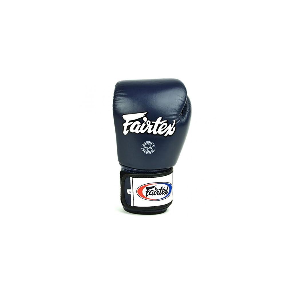 Fairtex-BGV1-Guantoni-da-Boxe-Muay-Thai-MMA-Kickboxing-Allenamento-Arti-Marziali-Colore-Blu-2835-g