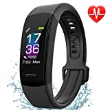 Fitness Tracker AISIRER Color Screen IP67 Waterproof Pedometer Bluetooth Watch Heart Rate Monitor