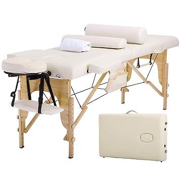 Amazon.com: Cama de masaje de 73