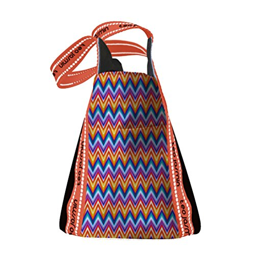 Téo Jasmin, Borsa a tracolla donna multicolore multicolore taglia unica