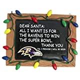 Baltimore Ravens Resin Chalkboard Sign Ornament