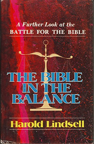 The Bible in the Balance
