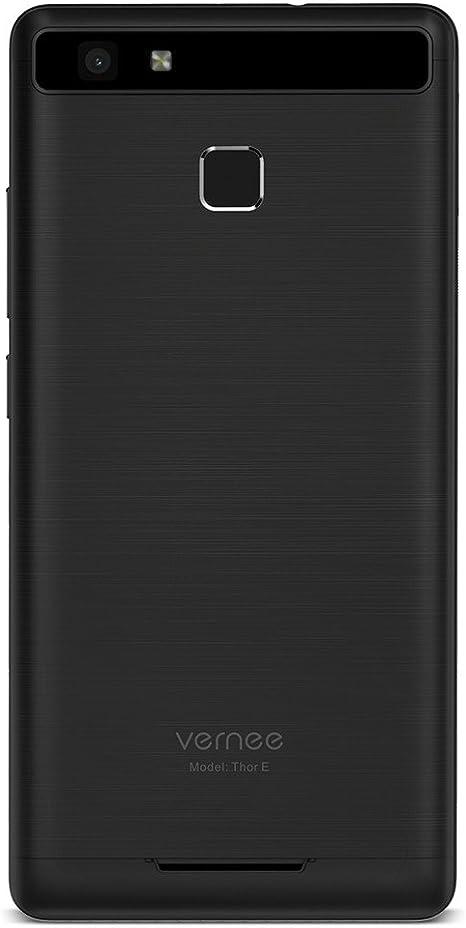 """Teléfono Móvil Libre,Vernee Thor E Dual Sim Smartphone con Pantalla de 5"""",4G LTE,Android 7.0,Procesador de 8 núcleos,3GB de RAM y 16GB de Memoria Interna, Capacidad de la Batería 5020mAh, Cámaras de 5MP"""