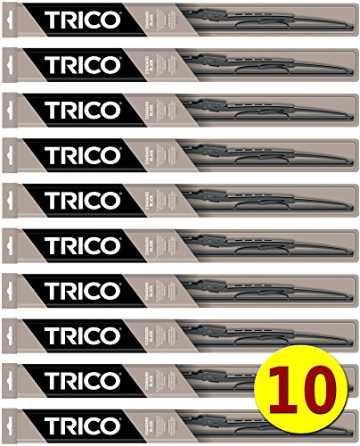 "10-Wiper Factory Master Case - Bulk 28"" Wiper Blades for Fleets & Service Repair Shops - TRICO 30-280 Standard 30-Series Metal Frame 28 inch fits 9mm & 9x4 Hook. for sale"