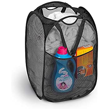 Amazon Com Smart Design Deluxe Mesh Pop Up Square Laundry