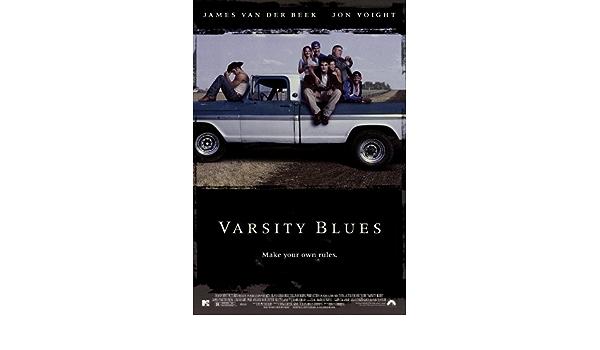 Varsity Blues - Póster de película 27 x 40 69 cm x 102 cm en ...