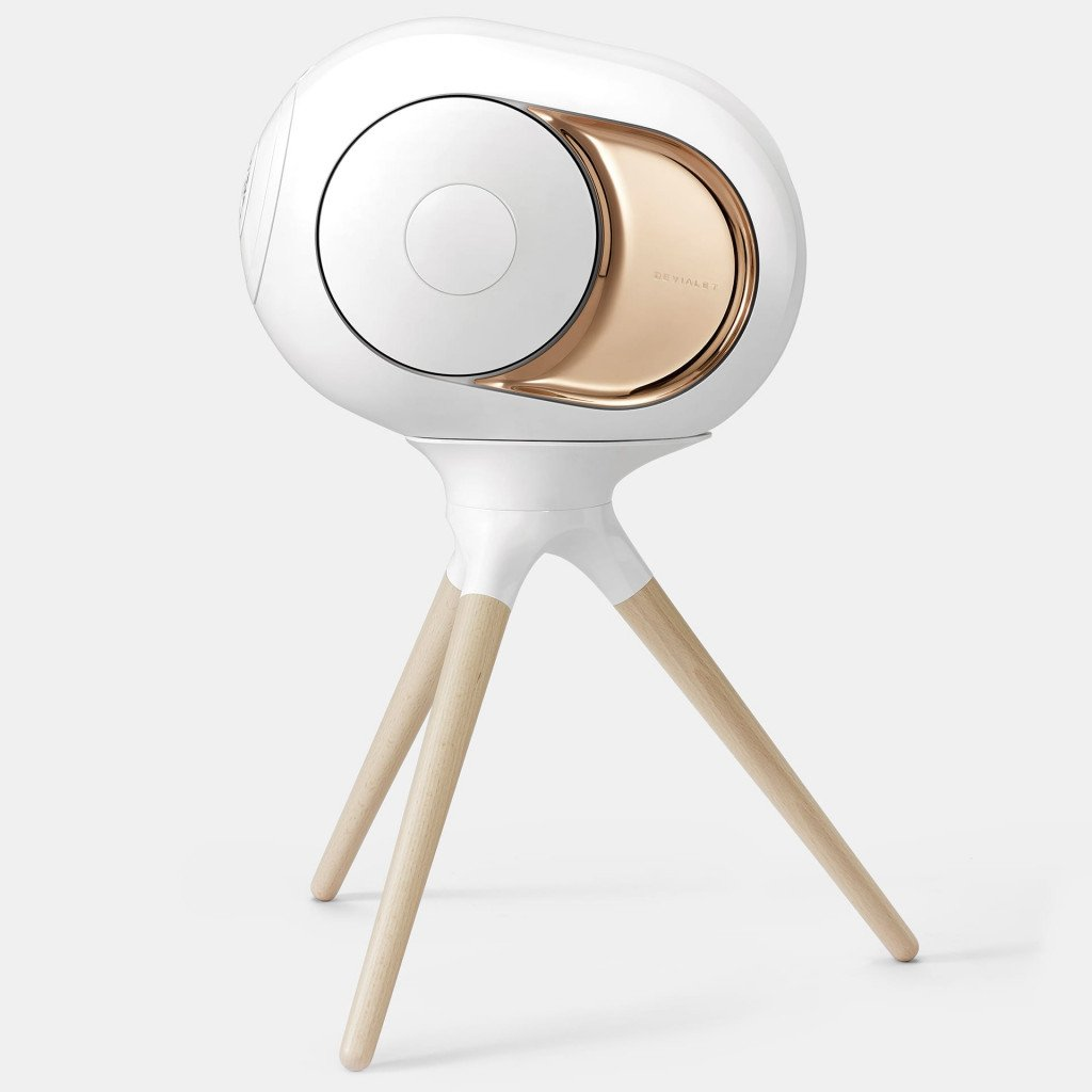 Devialet Accessory - Treepod - Wireless Speaker Stand for Phantom - Wood