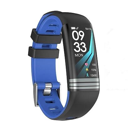 WSDSX Color Smart Pulsera, Smart Watch, Fitness Tracker, Reloj Deportivo, podómetro,