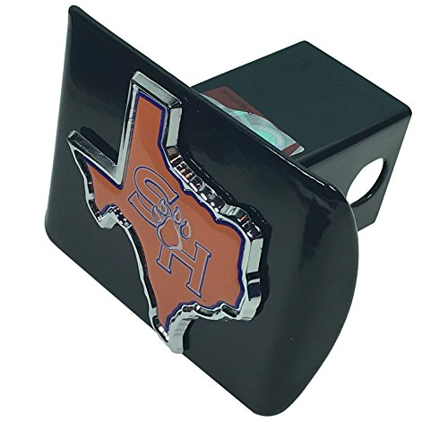 (Sam Houston State University Black METAL Hitch Cover)