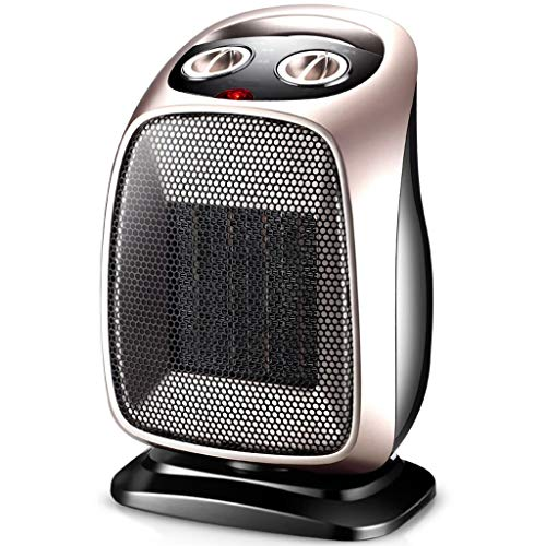 ALUS- Home Desktop Ceramic Space Heater,Adjustable Thermostat, PTC Heating Element,Over-Heating Protection System 1500W (color : ()