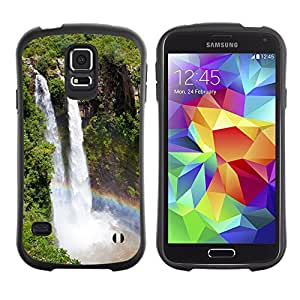 Pulsar iFace Series Tpu silicona Carcasa Funda Case para SAMSUNG Galaxy S5 V / i9600 / SM-G900F / SM-G900M / SM-G900A / SM-G900T / SM-G900W8 , Waterfall Niagra Falls