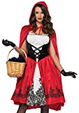 Red Riding Hood Knee Length Adult Costume