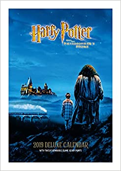 Harry Potter Deluxe Official 2019 Calendar - A3 with Presentation Envelope Format