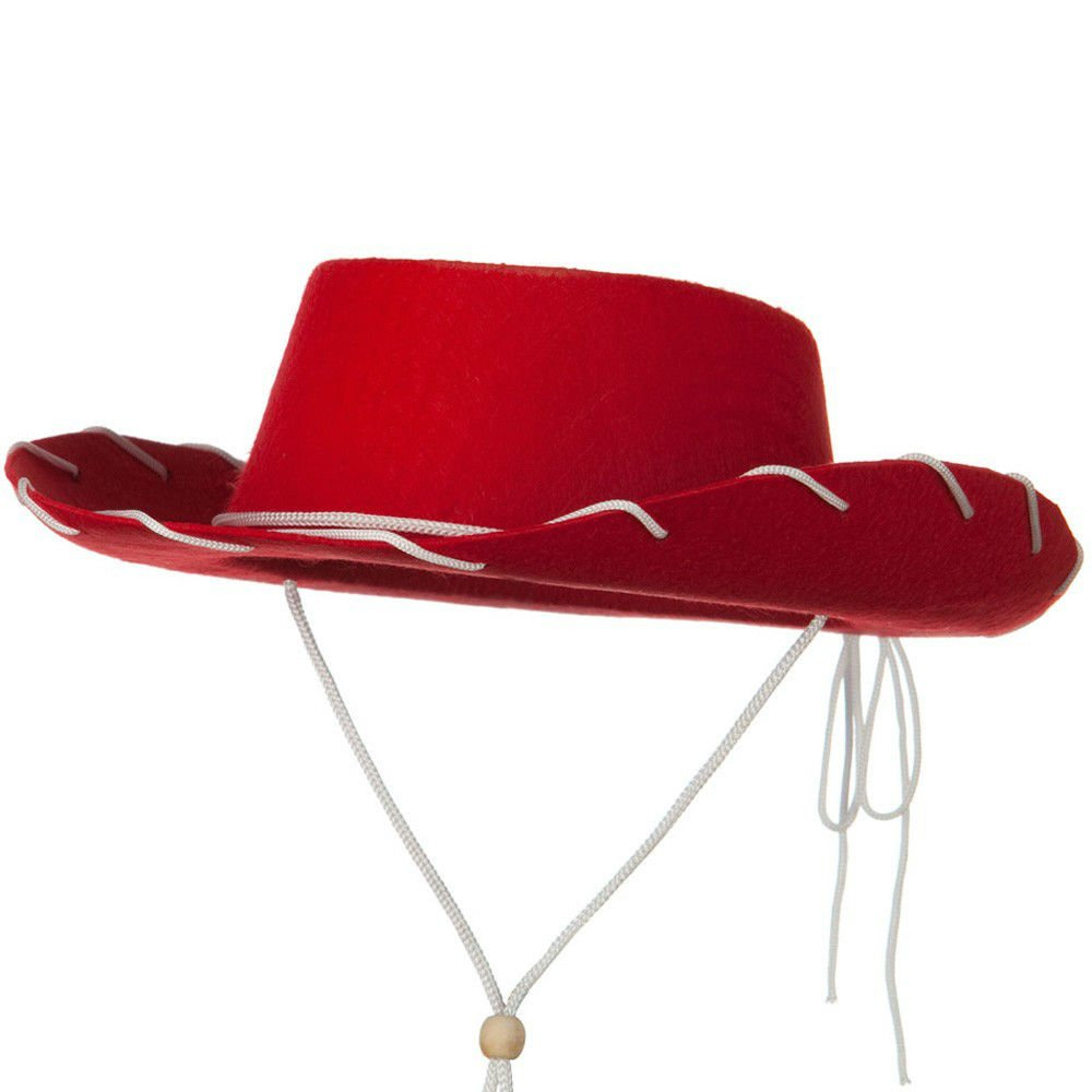 Jacobson Hat Company Childs Western Woody Style Kids Cowboy Ranch Hat Red