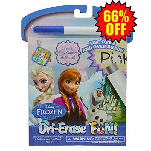 Frozen Dri Erase Fun Set - 12 PACK