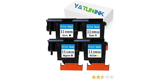 yatunink 4 unidades (1BK + 1 m + 1 C + 1Y) 11 – Cabezal de ...