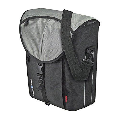 KlickFix Cita GTA Gepäckträgertasche schwarz/silber 2017 Fahrradtasche