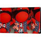 Saru Bobo (Baby Monkey Dolls), Takayama, Gifu, Japan by Rob Tilley/Danita Delimont Canvas Art Wall Picture, Museum Wrapped with Black Sides, 21 x 14 inches