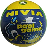 Nivia Rubber Moulded Volleyball, Size 4 (Multicolor)