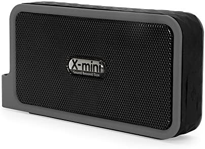 X-mini EXPLORE Plus Wireless Bluetooth Portable Stereo Speaker Splash Proof Black
