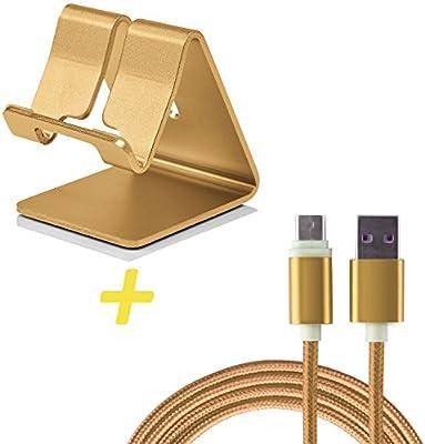 Atril valor Smartphone Soporte + USB tipo C cable para OnePlus 3 ...