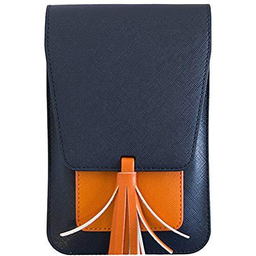 Hurrybuy Women Small Crossbody Purse, Tassel Cell Phone Purse Wallet Card Bags