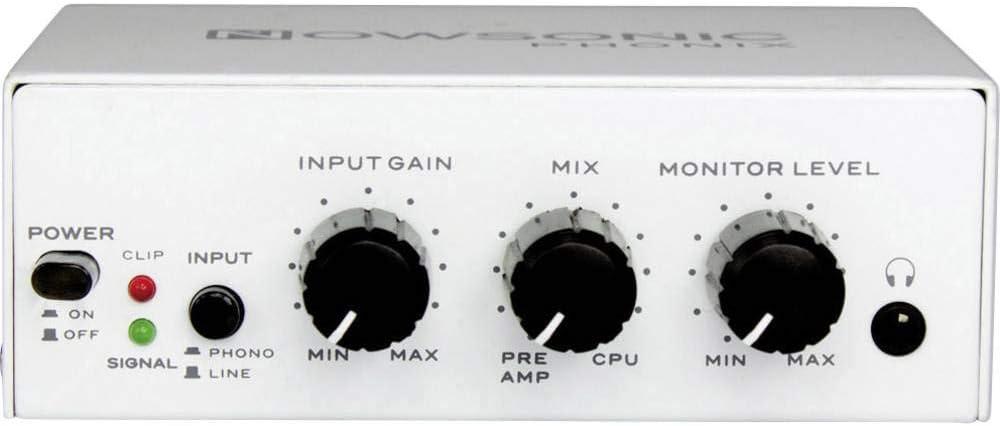 Nowsonic 309423 Phonix - Preamplificador phono: Amazon.es ...