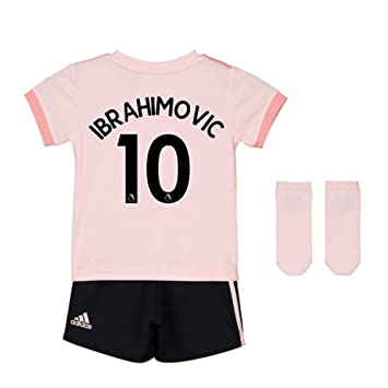 UKSoccershop 2018-19 Man Utd Away Baby Kit (Zlatan Ibrahimovic 10)   Amazon.co.uk  Sports   Outdoors 3593cbff8