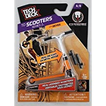 1 TECH DECK SCOOTER - Scooters Series 2 (6/8) - PHOENIX - White/Orange by Ruksikhao