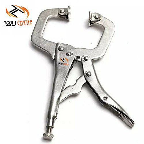 ToolsCentre TC-331-A Stainless Steel C and D Type Welding Clamp Locking Plier (11 inch) Price & Reviews
