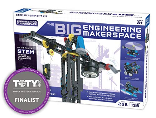 Thames andamp; Kosmos The Big Engineering Makerspace Science Experiment Kit