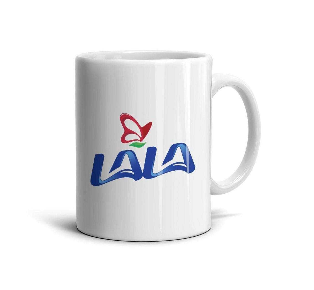 HIYITUTA Grupo Lala Logo Mug Novelty Daily Use Mug 11 Oz Holidays Mugs Boyfriend Mom
