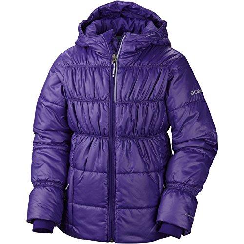 Columbia Girl's Shimmer Me II Jacket, Hyper Purple, X-Large