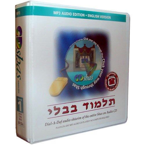 CDShas Vol. 1: Zeraim, Moed, Nashim - MP3 English Edition 20 CD Program