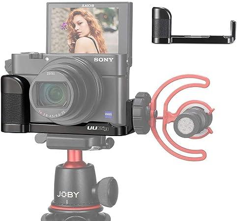 Rx100 Vii Mikrofonhalterung Vlog Halterung Griff Mit Kamera