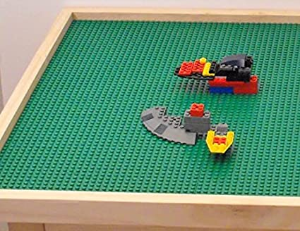 Extra Large Lego Compatible Play Table 30u0026quot; X 40u0026quot; X 22u0026quot;  Removable Base