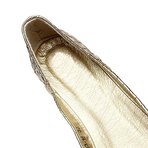 OCHENTA - Sandalias con cuña mujer - 04F-Golden