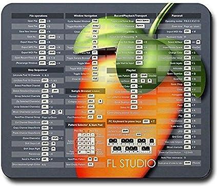 General CafePress Mousepad FL Studio Atajos de Teclado con ...