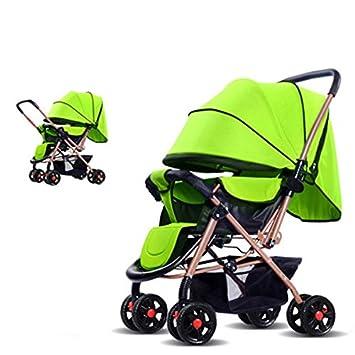BBZZZ-bike Bebé de cuatro ruedas Carro ligero del paraguas del bebé del verano del