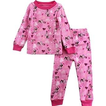 Dr. Seuss Baby Girls' Pajama, Pink, 18 Months