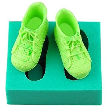 Bluelover 3d Silikon Baby Schuhe Kuchen Form Fondant Soap Mould
