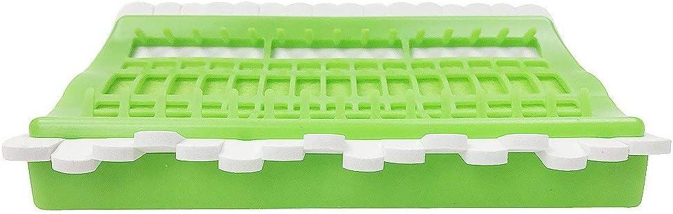 Plastic /& Foam D/&D Floss Organizer Embroidery Kit Cross Stitch Tool Green 30 Positions Thread Organizers