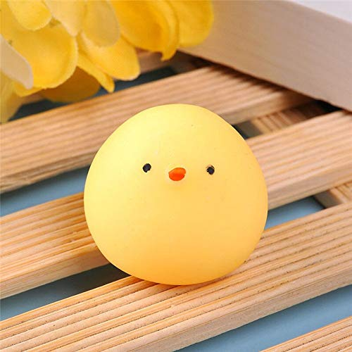 Figurines & Miniatures - Home Decoration Mini Cute Soft Squeeze Animal Chicken Dumpling Fun Kid Toys Gifts Compress Stress - Home Minie Decorative Decor Decoration Mouse