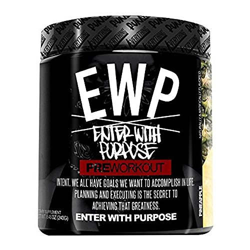 Run Everything Labs EWP Enter with Purpose Pre-Workout Pineapple Supplement, 8.46 Ounce