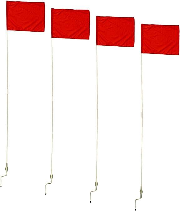 Pack DE 12 CHAMPION SPORTS Bandera de F/útbol