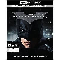 Batman Begins Ultra HD + Dark Knight Rises