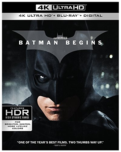 4K Blu-ray : Batman Begins (4K Mastering, 3 Disc)